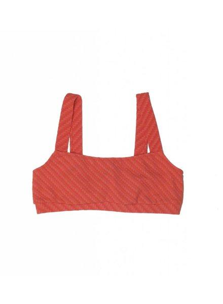 Solid & Striped Madison Basket Weave Bikini Top
