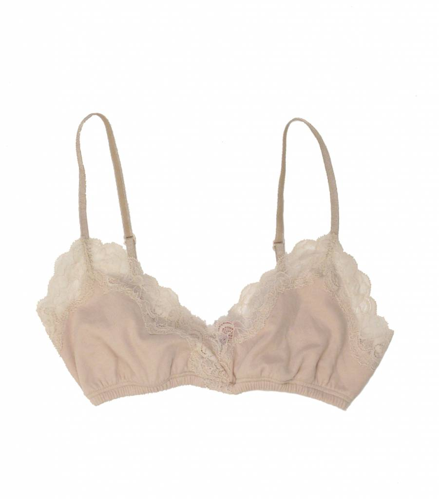 1444c91158f90 Organic Cotton Wrap Bralette by Only Hearts - Lille Boutique