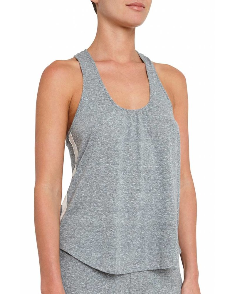 Eberjey Heather Active Racerback Tank