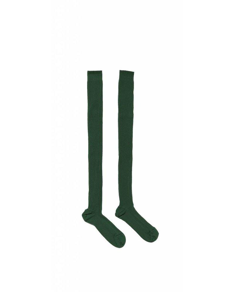 Baserange Cotton Rib Over Knee Socks