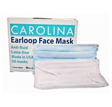 Carolina USA MADE Face Mask Blue 50/box