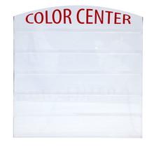 Acrylic Wall Rack 72 Color Powder 2 oz