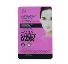BCL Essential Oil Facial Sheet Mask - Avacado 0.67 oz