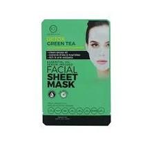 BCL Essential Oil Facial Sheet Mask - Green Tea 0.67 oz