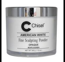 Chisel Acrylic Powder American White 12 oz