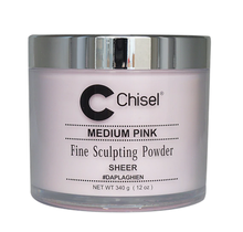 Chisel Acrylic Powder Medium Pink 12 oz
