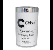 Chisel Acrylic Powder Pure White 22 oz