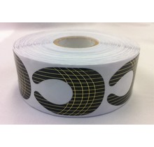 Disposable Nail Form Large 500 pcs / Roll
