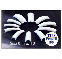 #04 LAMOUR Tips French Blue 50 pcs