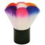 "2-1/2"" Multi Color Dip Powder Dust Brush"