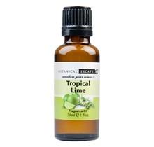 Botanical Escapes Herbal Spa Pedicure Fragrance Oil 1 oz - Tropical Lime