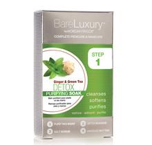 BARE LUXURY PEDI 4 Step - Ginger & Green Tea 48/Box