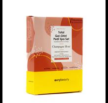 GEL-OHH! PEDI SPA SET 5 Step - Champagne Toast 50/Box