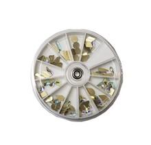 12 Size Irreglar Crystal Rhinestone Wheel