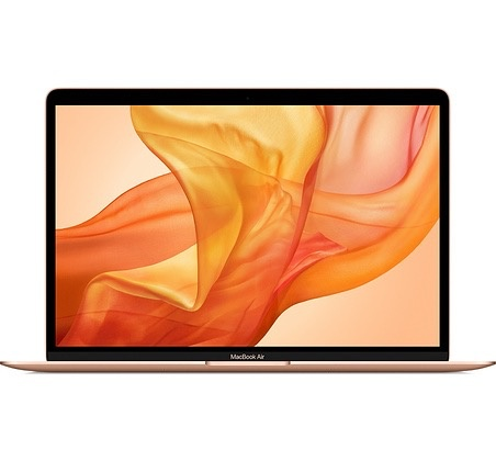 "Apple MacBook Air 13"" Gold Touch ID Retina Display 1.6GHz 8th-Gen i5 8GB 128GB 2018"