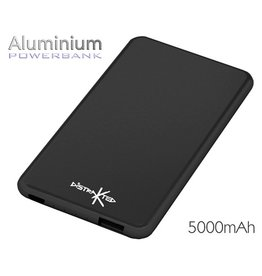 Battery Distrakted Aluminium Powerbank 5,000mAh