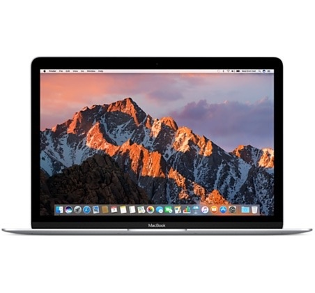 "Apple Macbook 12"" 1.3GHz M5 8GB 512GB - Silver 2017"
