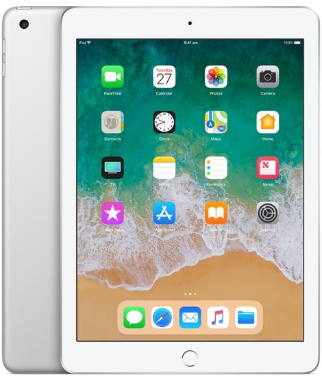 Apple iPad Wi-Fi 128GB - Silver (6th Gen 2018)