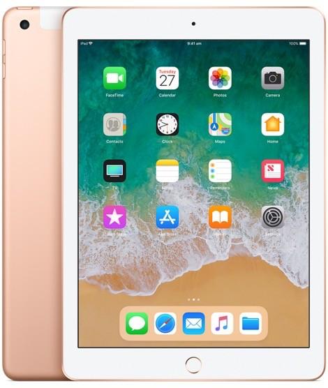 Apple iPad Wi-Fi + Cellular 32GB - Gold (6th Gen 2018)