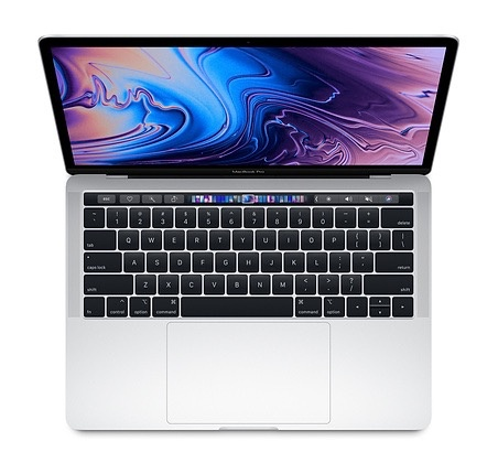 "Apple MacBook Pro 13"" Touch Bar 2.3GHz 512GB - Silver 2018"