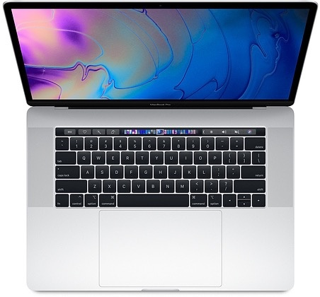 "Apple MacBook Pro 15"" Touch Bar 2.2GHz 256GB - Silver 2018"