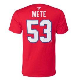 Fanatics T-shirt joueur #53 victor mete