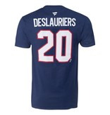Fanatics Nicolas Deslauriers #20 Player T-Shirt
