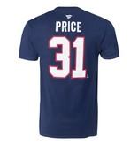 Fanatics T-shirt joueur #31 Carey Price