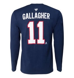 Fanatics Brendan Gallagher #11 Player Long Sleeve