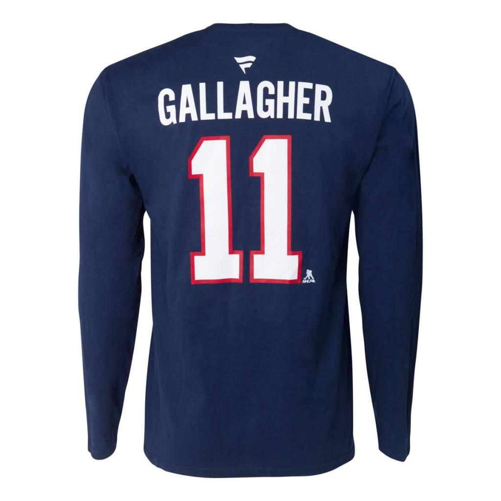 finest selection f231e 2f0a0 Brendan Gallagher #11 Player Long Sleeve∣ Tricolore Sports