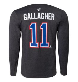 Fanatics MANCHE LONGUE JOUEUR #11 BRENDAN GALLAGHER