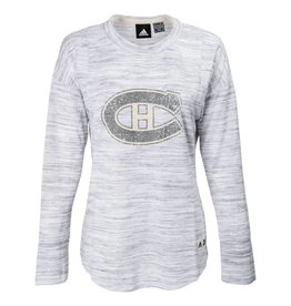 Adidas Women's Long Sleeve Faded Crew