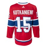 Adidas Chandail authentique #15 Jesperi Kotkaniemi collé pro
