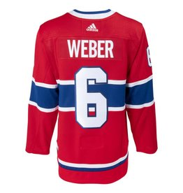 Adidas CHANDAIL AUTHENTIQUE #6 SHEA WEBER COLLÉ PRO