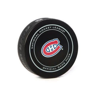 Club De Hockey BRENDAN GALLAGHER GOAL PUCK (5) 23-OCT-2018 VS. FLAMES