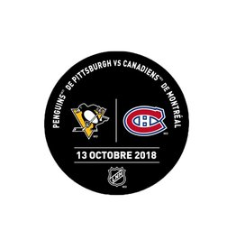 Sher-Wood Rondelle de pratique 13-oct-2018 vs. penguins