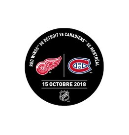 Sher-Wood PRACTICE PUCK 15-OCT-2018 VS. RED WINGS