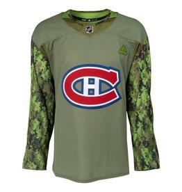 Adidas Chandail canadiens militaire 2018