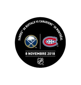 Sher-Wood PRACTICE PUCK 8-NOV-2018 VS. SABRES