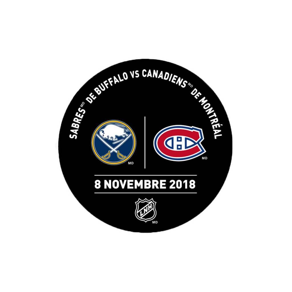Sher-Wood Rondelle de pratique 8-nov-2018 vs. sabres