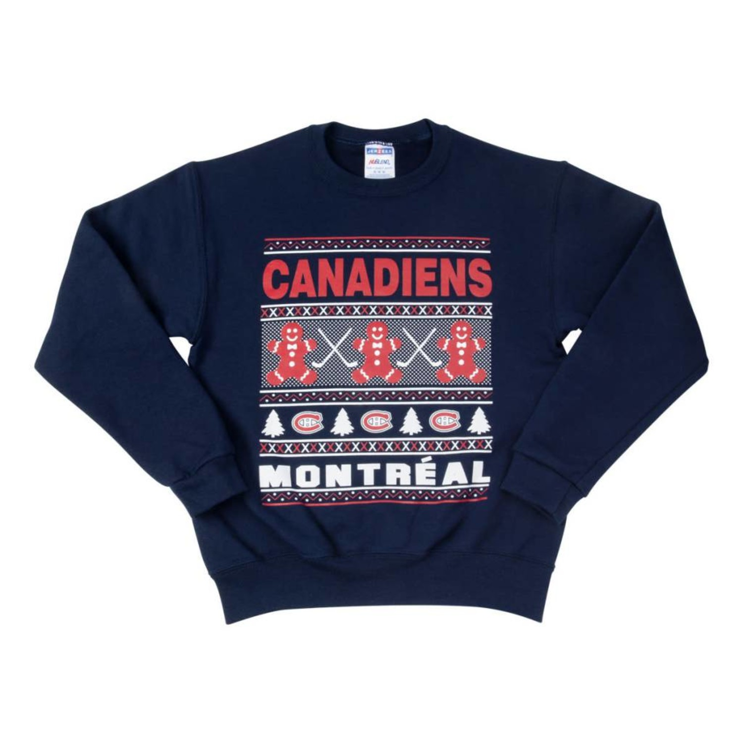 premium selection 9d25d 1201e Canadiens Junior Ugly Sweater - Tricolore Sports