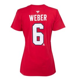 Fanatics WOMEN'S #6 SHEA WEBER PLAYER T-SHIRT