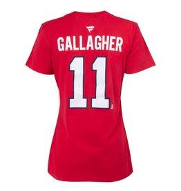 Fanatics T-SHIRT JOUEUR FEMME #11 BRENDAN GALLAGHER