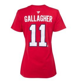 Fanatics WOMEN'S #11 BRENDAN GALLAGHER PLAYER T-SHIRT