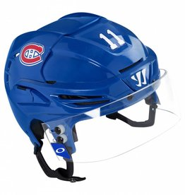 Club De Hockey MONTREAL CANADIENS GAME USED HELMET