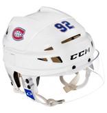 Club De Hockey MONTREAL CANADIENS GAME USED HELMET