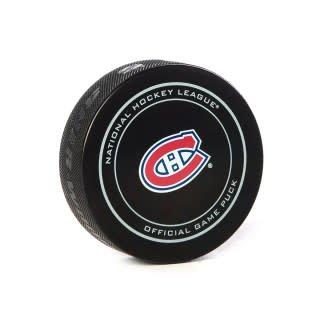 Club De Hockey GAME-USED PUCK 1-DEC-2018 VS. RANGERS