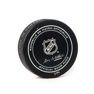 Club De Hockey ARTTURI LEHKONEN GOAL PUCK (3) 1-DEC-18 VS. RANGERS
