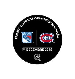 Sher-Wood PRACTICE PUCK 1 DECEMBRE 2018 VS. RANGERS