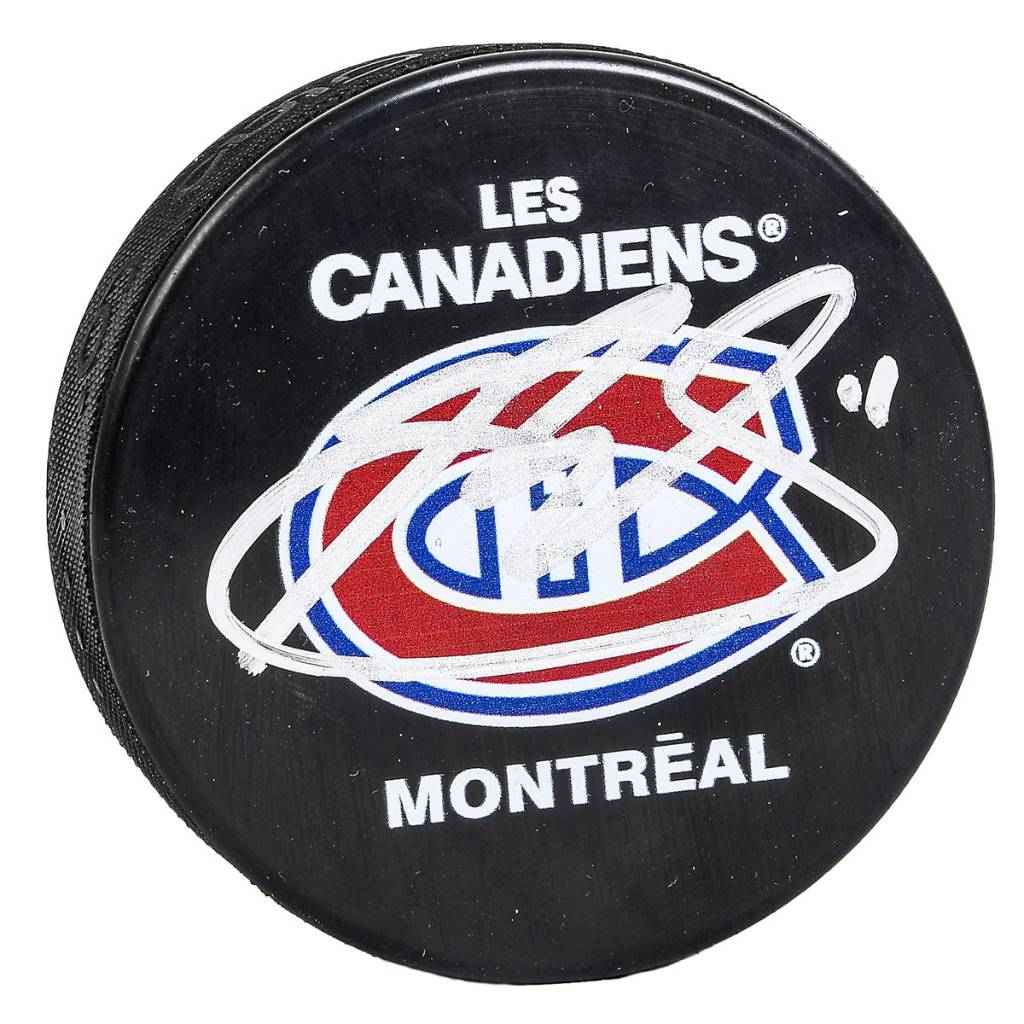 Signature Pro PUCK SIGNED BY BRENDAN GALLAGHER